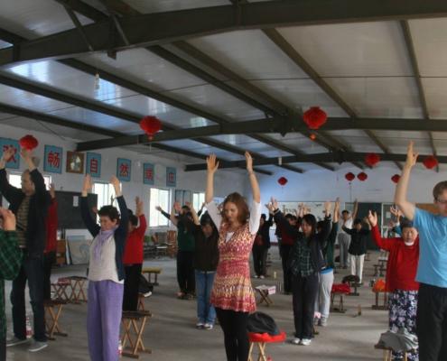 zhu lingtong qigong practice