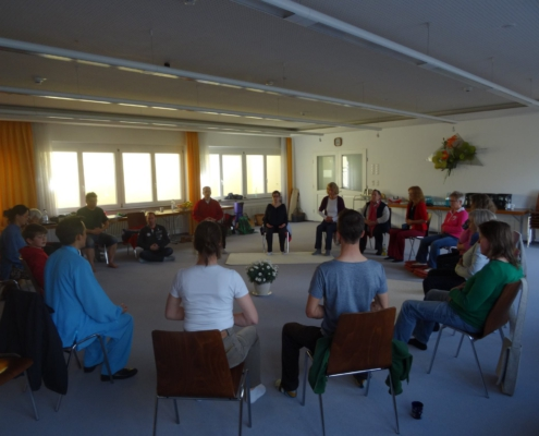 zhu lingtong qigong retreat healing